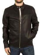 Jack-Jones-Mens-Vendelbo-Biker-Jacket-Black