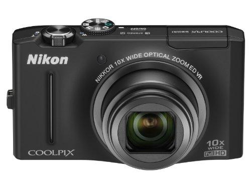 Nikon デジタルカメラ COOLPIX S8100 ノーブルブラック S8100BK 1210万画素 光学10倍ズーム 広角30mm 3.0型液晶 裏面照射型CMOS