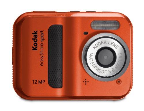 Kodak 防水デジタルカメラ EASYSHARE SPORT C123 1200万画素 レッド C123-R