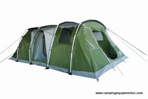 Mars 6 Person Premium Family Camping Tent with Camp Guides