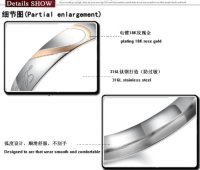 """""""Real Love"""" Heart Stainless Steel Band Ring Promise Ring ..."""