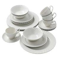 Amazon.com | Johnson Brothers Regency 20-Piece Dinnerware ...