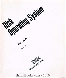 Disk Operating System User's Guide Version 6.1: IBM