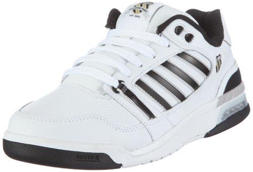 K-Swiss SI-18 INTERNATIONAL 02656-189-M Herren Sneaker, weiss (white/black/gull gray/rich gold), EU 47, (UK12)