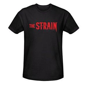 The-Strain-Logo-Unisex-T-Shirt-Black-XXL
