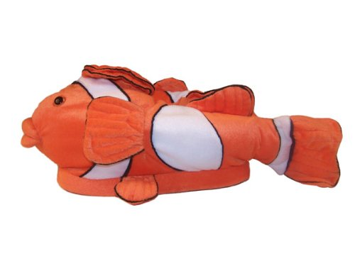 Happy Feet - Clown Fish - Animal Slippers - Large