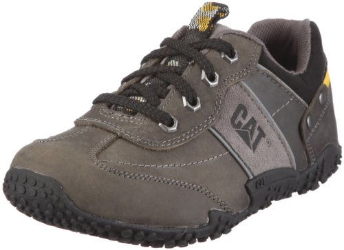 Cat Footwear ZAC Oxford P401389, Unisex - Kinder Sneaker, Grau (PEPPER OXFORD), EU 38