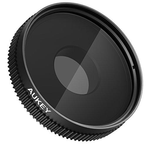 Aukey 偏光レンズフィルター CPL フィルター クリップ式 iPhone6s Samsung Galaxy S6 SonyZ4 Z5などのスマートフォン用レンズ PF-C1