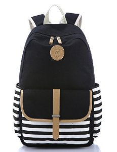 Leaper-Thickened-Canvas-Laptop-Bag-Shoulder-Daypack-School-Backpack-Causal-Handbag