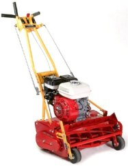 Reel Mower With Grass Catcher