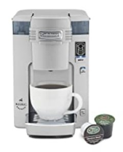 Cuisinart SS-300 Single Serve Brewing System, Silver - Powered by Keurig