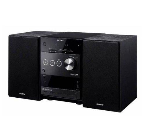 Sony CMT-DX400 DVD Kompaktanlage (Digitalverstärker, USB Anschluss, DivX) schwarz