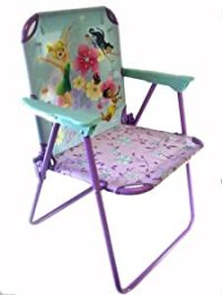 Amazon.com: Teal and Purple Tinkerbell Folding Lawn Chair ...