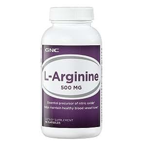 Amazon.com: GNC L-Arginine 500 MG 90 Capsules: Health & Personal Care