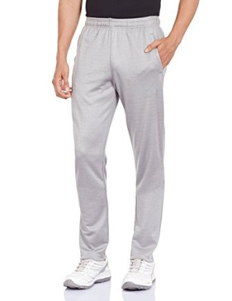 adidas Men's Polyester Track Pants (4055344152751_AP2878_M_Grey)