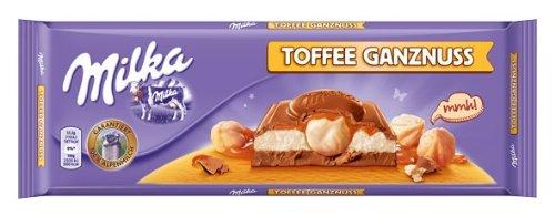Milka Toffee Ganznuss, 4er Pack (4 x 300 g)