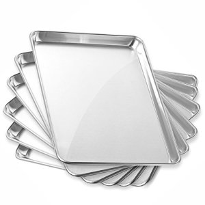Gridmann-13-x-18-Commercial-Grade-Aluminium-Cookie-Sheet-Baking-Tray-Jelly-Roll-Pan-Half-Sheet-6-Pans