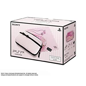 PSP「プレイステーション・ポータブル」 バリュー・パック for Girls(PSPJ-30019)