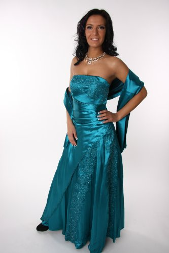 Modell 2034 Abendkleid lang, schulterfrei