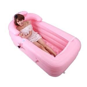 Erwachsene Verdickung aufblasbare Badewanne warmen
