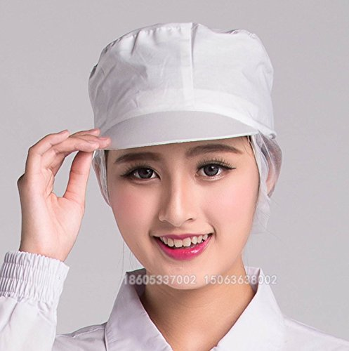kitchen hats closets shantrip 衛生帽キッチン帽子厨房調理工場衛生キャップ男女兼用 3 武士