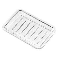 InterDesign Plastic Bar Soap Holder for Bathroom, Shower ...