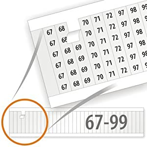 Amazon.com: Electrical Labels, Wire, Vinyl Cloth Numbers