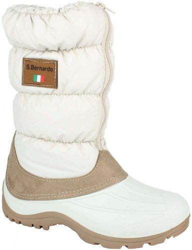 Original San Bernardo After Ski Winterstiefel Winterboot Fashion Style beige Groesse-37
