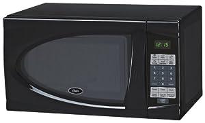 oster am730b 0 7 cubic feet countertop microwave oven 700 watt black kitchen dining giftoflove