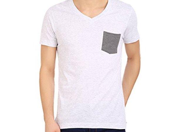 American Crew Men's V Neck Half Sleeve T-shirt