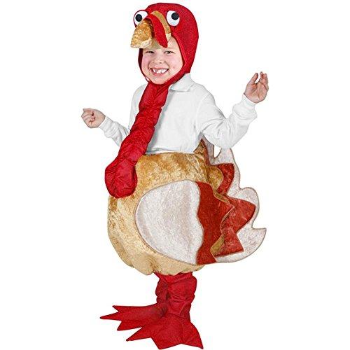 Turkey Child's Costum (Size: Medium 7-10)