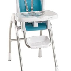 Evenflo High Chair Easy Fold Recall Urban Outfitters Modern 300 Trivet Blue Features