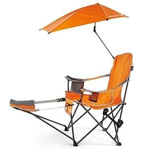 Amazoncom SportBrella Recliner Chair Firebrick Red