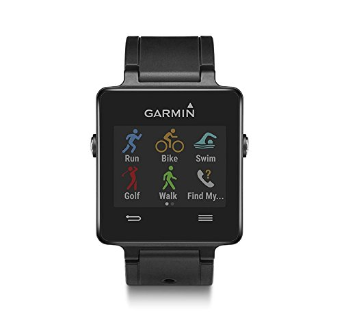 41oY7TSp5hL - UK BESTSELLER Garmin Vivoactive GPS Smart Watch with Sports Apps - Black