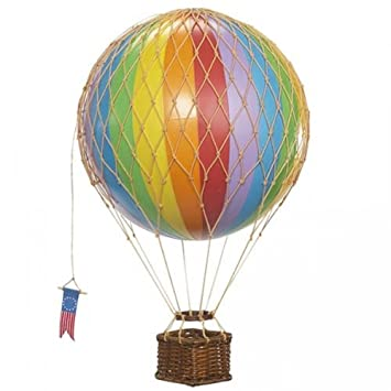 Travels Light Rainbow Hanging Hot Air Balloon