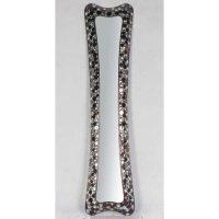 Amazon.com - Shiny decorative metallic framed long narrow ...