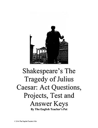 Amazon.com: Shakespeare's Julius Caesar: Act Questions