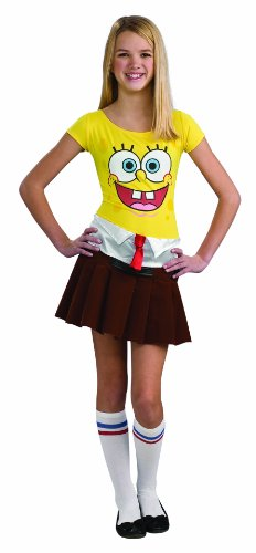 ... Spongebob Costume Teen Sponge Babe ...  sc 1 st  Good Ideas for Halloween Costumes 2017 & Halloween Costume Ideas for Teens and Tweens 2015 | Good Ideas for ...