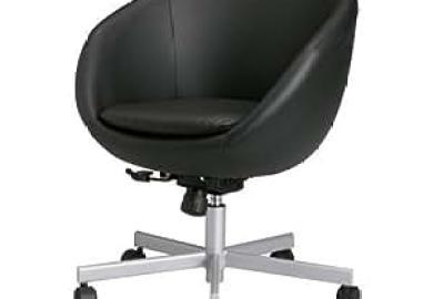 Ikea Skruvsta Swivel Chair Idhult Black Amazon
