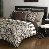 Amazon.com - Bedding Style Michael Kors Taos King Bedskirt ...