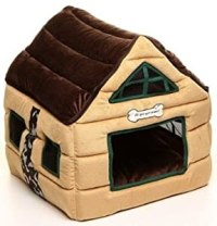 Amazon.com : Super Nice Brown Indoor soft Dog House/pets ...