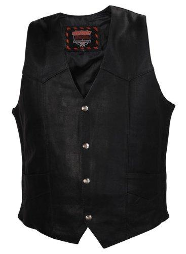 Interstate Leather Basic Vest Black Large  Anja Fuhrmanngo