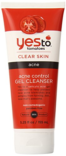 Yes To Tomatoes Acne Control Gel Cleanser, 5.25 Fluid Ounce