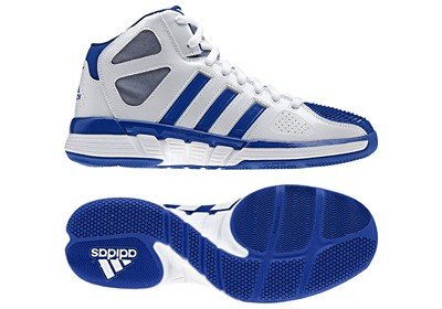 Adidas Pro Model 0 Zero W Damen Basketball Schuhe Sneakers Sport Training Fitness Hallen Hallenböden Hallensport Turnschuhe Sportschuhe Trainingsschuhe Basketballschuhe Freizeitschuhe Weiss Weiß 38 UK 5
