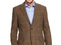 Luxury Pure New Wool 2 Button Multi Checked Jacket | M&S