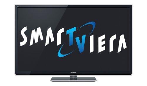 Panasonic TX-P65STW50 165 cm (65 Zoll) 3D Plasma-Fernseher, Energieeffizienzklasse C (Full-HD, 2000Hz ffd, DVB-S/T/C, SmartTV) Anthrazit-Metallic