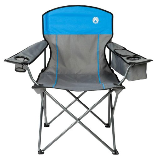 COLEMAN Camping Outdoor Oversized Quad Chair w Cooler