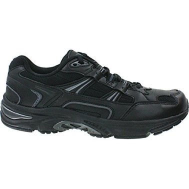 Vionic Men's Orthaheel Technology Black Walker - 12 2E US