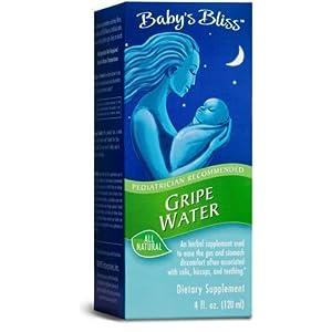 Mommy's Bliss Gripe Water, Liquid, 4-ounce bottle