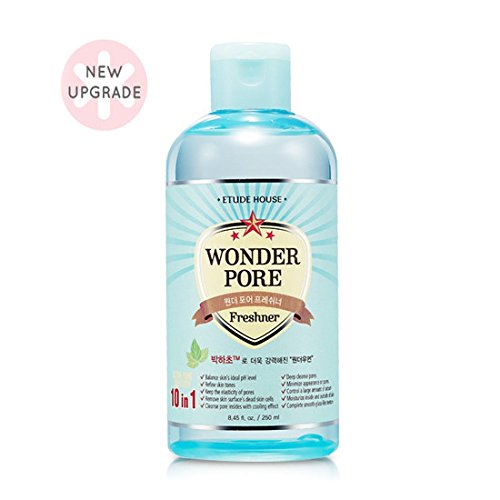Etude House Wonder Pore Freshener 250ml - Latest Version (10 in 1 Ultra Pore Solution)